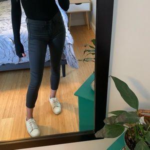 Rag & Bone Coated Skinny Jeans